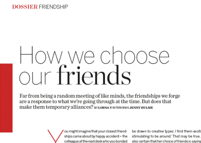How We Choose Friends